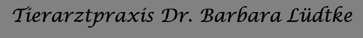 Tierarztpraxis Dr. Barbara Lüdtke